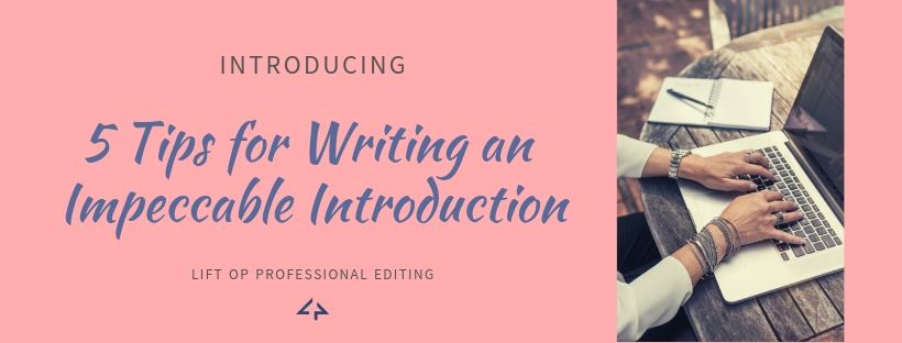 writing a blog introduction